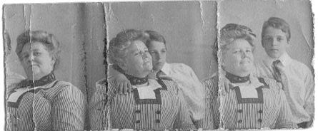 bill and oma, 1913